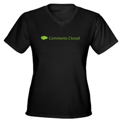 Comments closed shirt